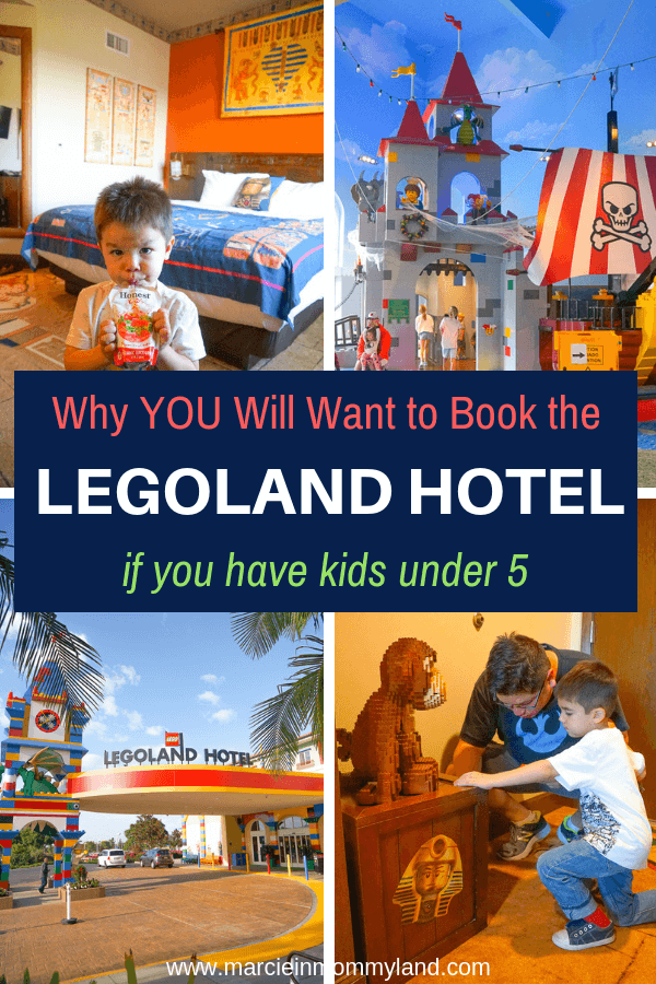 Do you want to make the most of your LEGOLAND vacation with little kids? Get my top LEGOLAND Hotel tips and tricks for kids under 5 years old. Click to read more or pin to save for later. www.marcieinmommyland.com #legolandhotel #legoland #legolandcalifornia #travelwithkids