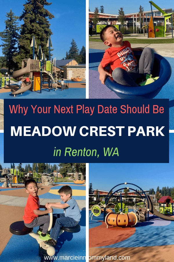 Looking for an inclusive park in Renton, WA? Click to read more or pin to save for later. www.marcieinmommyland.com #ad #ShapedByPlay #PlayLSI