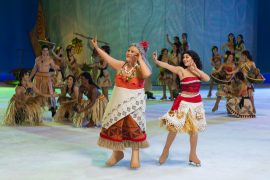 Disney on Ice: Dare to Dream features Moana! #DisneyOnIce #DareToDream