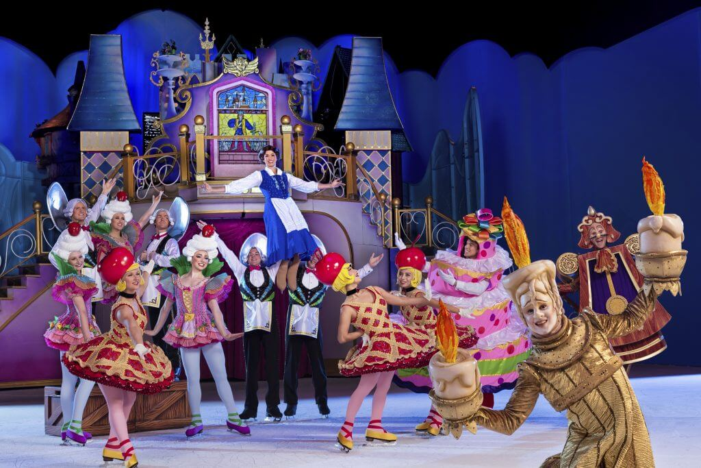 Photo of Beauty and the Beast as part of Disney on Ice: Dare to Dream #DisneyOnIce #DareToDream