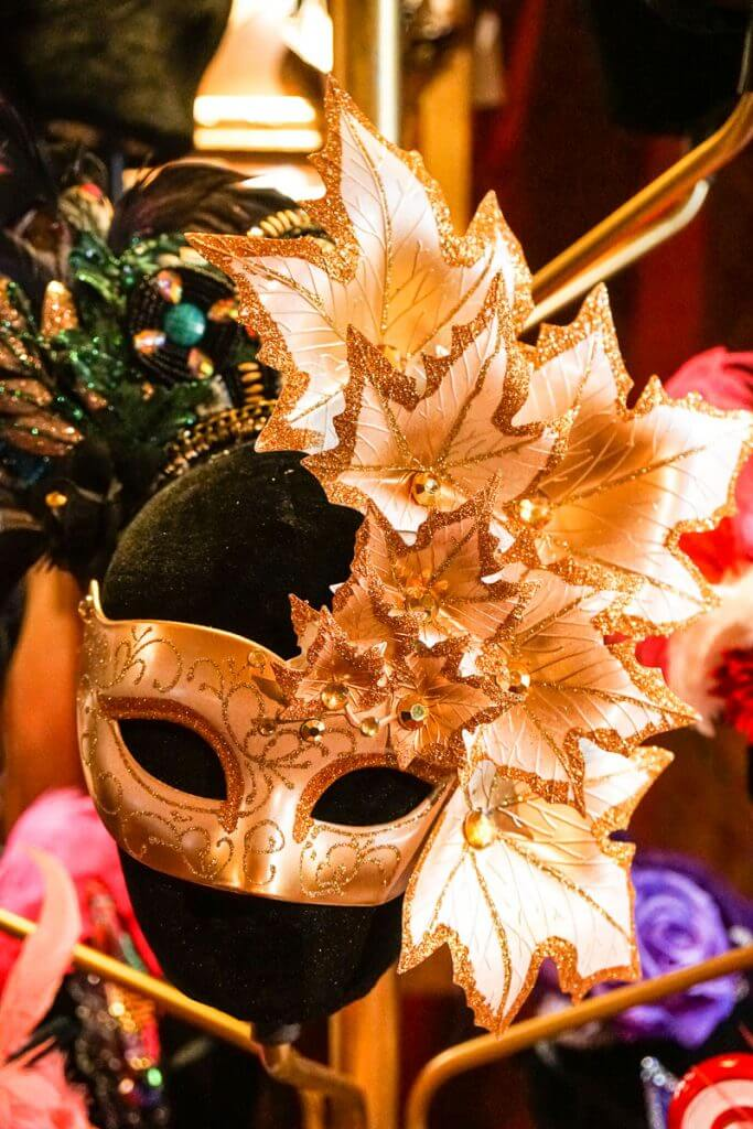 Photo of a party mask at Teatro ZinZanni near Seattle, WA #mask #teatrozinzanni #costume