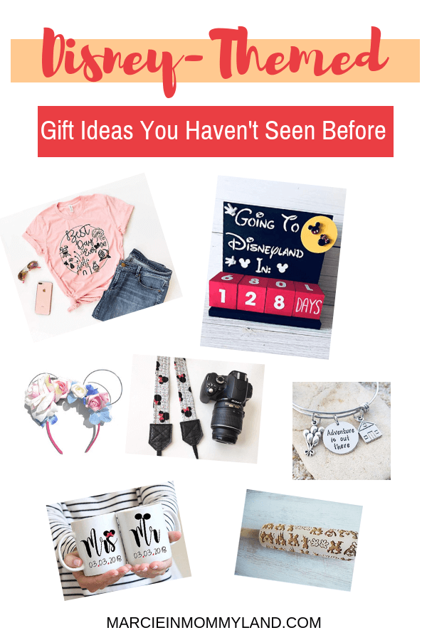 #ad Tired of seeing the same Disney gift options? Head to Amazon Handmade to find something unique while supporting small business owners. Click to read more or pin to save for later. www.marcieinmommyland.com #AmazonHandmade #IC