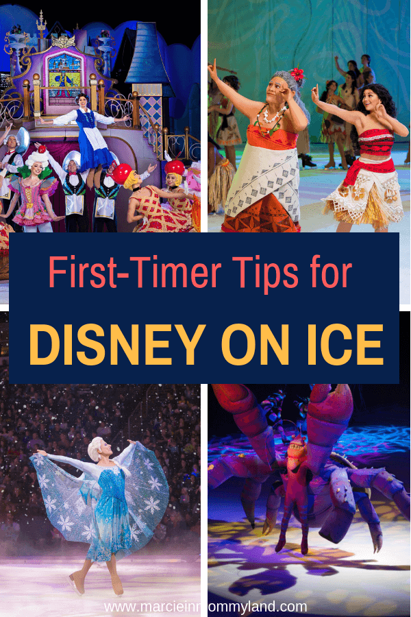 Planning on attending Disney on Ice for the first time? Get my first-timer Disney on Ice tips and tricks. Click to read more or pin to save for later. www.marcieinmommyland.com #ad #disneyonice #daretodream