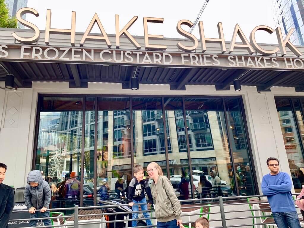Photo of the new Shake Shack in Seattle #shakeshake #seattleeats