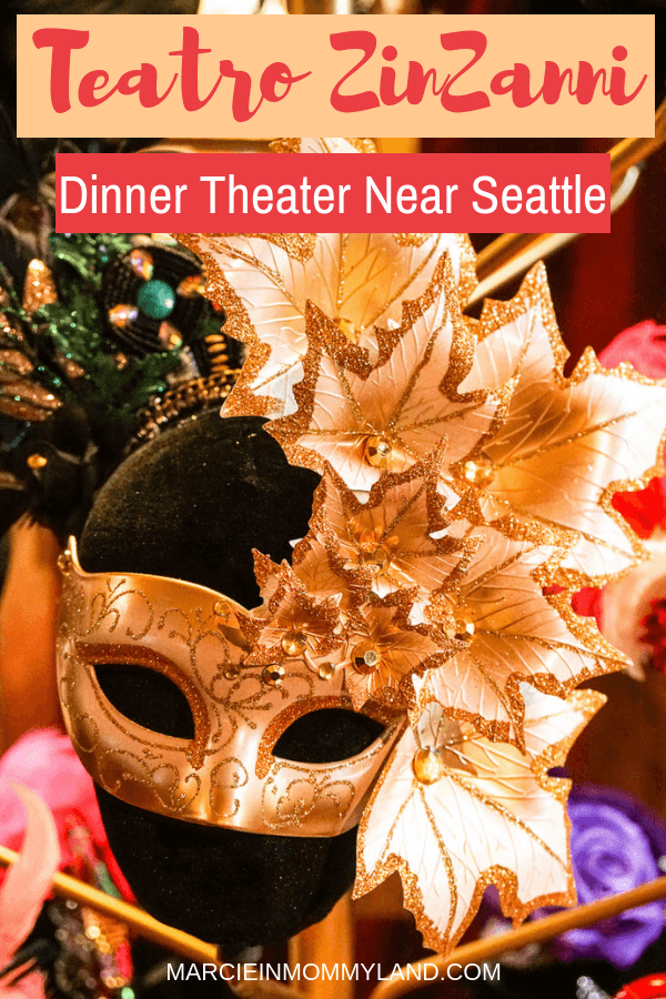 Looking for a swanky place for a Seattle date night, bachelorette party, birthday party, or girls night? Teatro ZinZanni is a fun dinner theater extravaganza located in Woodinville, WA just a few minutes from Seattle. Click to learn more or pin to save for later. www.marcieinmommyland.com #seattle #datenight #bachelorette #birthdayparty #dinnertheater