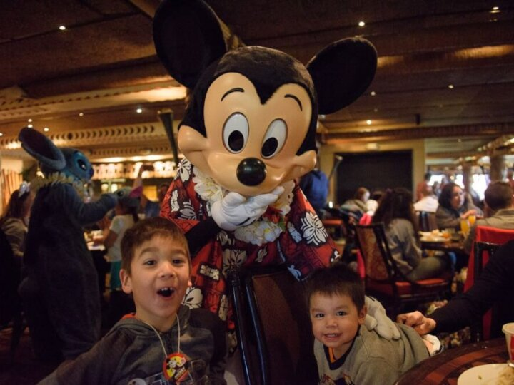 Photo of the Ohana Character Breakfast with Lilo, Stitch, and Mickey Mouse at Disney's Polynesian Village Resort at Walt Disney World #ohana #liloandstitch #mickeymouse #polynesianvillageresort #waltdisneyworld | Ohana Character Breakfast review featured by top Disney blogger, Marcie in Mommyland
