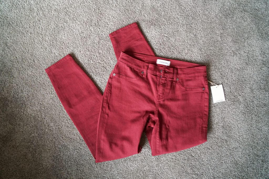 Photo of Lila Ryan Louise Skinny Jean, one of the Stitch Fix brands I received in my latest Stitch Fix box #stitchfix