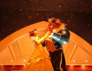 Photo of the Be Our Guest breakfast, one of the top breakfasts at Walt Disney World #beourguest #magickingdom #beautyandthebeast #waltdisneyworld #disneyworld | Be our Guest character breakfast review featured by top Disney blogger, Marcie in Mommyland