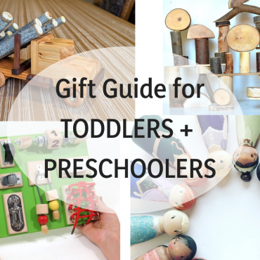 Best Wooden Toys for Toddlers + Preschoolers