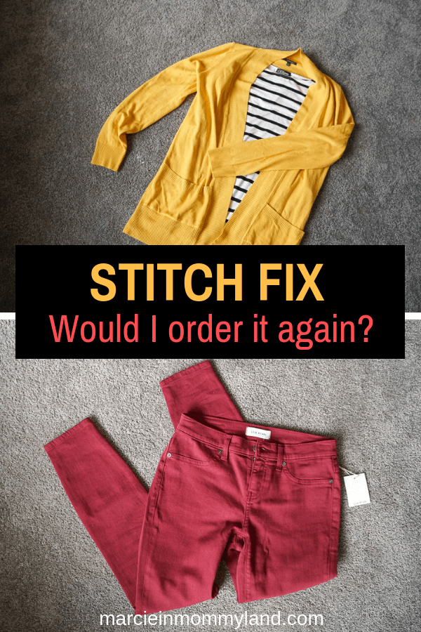 Do Stitch Fix prices match the quality of Stitch Fix brands? Find out at www.marcieinmommyland.com. Click to read more or pin to save for later. #stitchfix #momfashion #womensfashion #subscriptionbox | | Stitch Fix review featured by top Seattle life and style blogger, Marcie in Mommyland: image of grey pullover received in the Stitch Fix box: image of Stitch Fix unboxing
