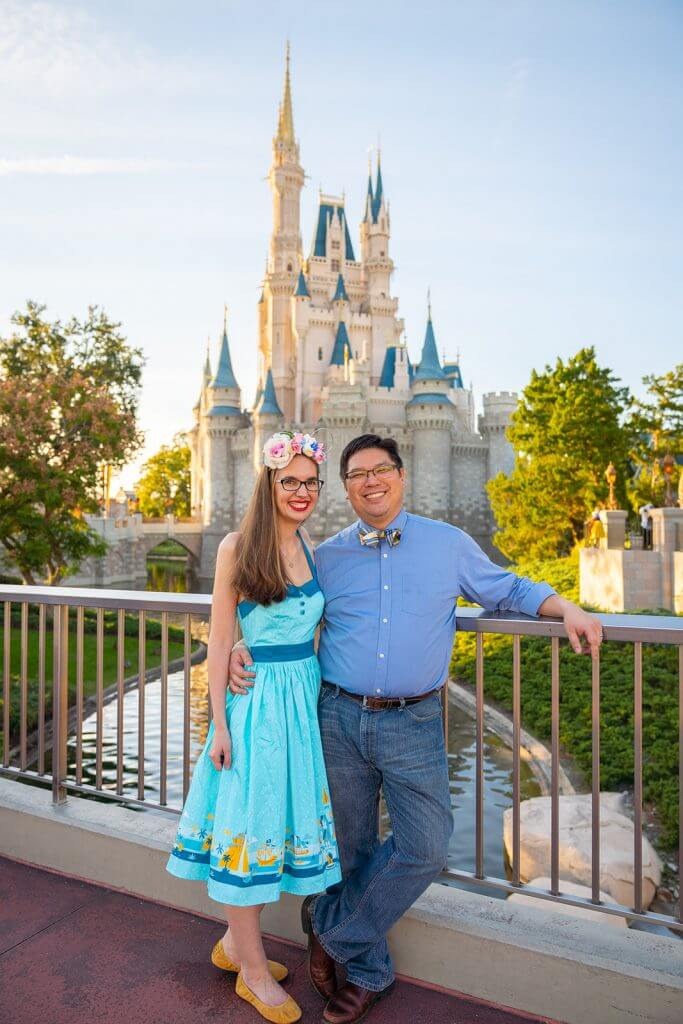 9 Disney World Photos That Will Make You Want to Bring Your Kids There featured by top US Disney blogger, Marcie and the Mouse: Cinderella's Castle at Magic Kingdom is the ultimate Walt Disney World photo spot at Magic Kingdom in Orlando, Florida #wdw #magickingdom #cinderellacastle #waltdisneyworld #disneyworld