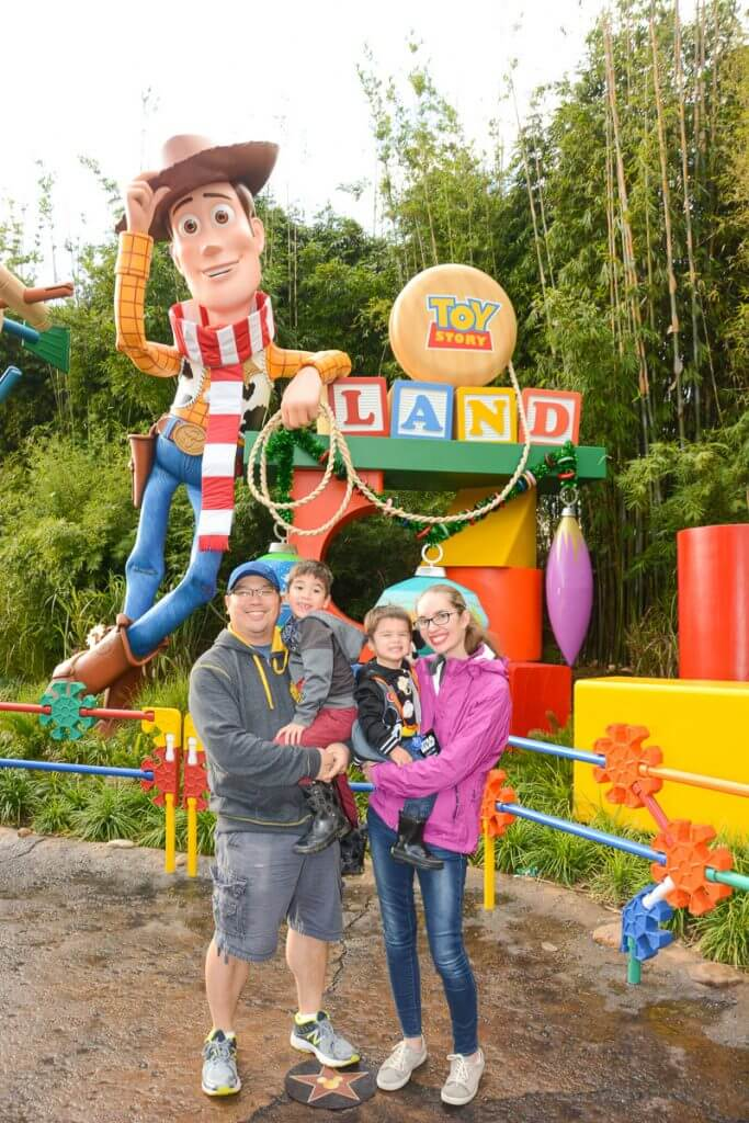 Toy Story Land is the newest addition and a must-see attraction at Disney's Hollywood Studios with kids.