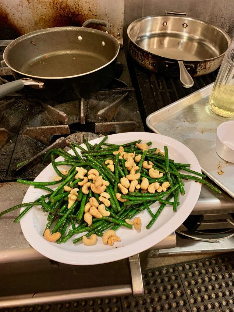 Chinese long beans make the ultimate Chinese New Year side dish and it's an easy Chinese recipe.