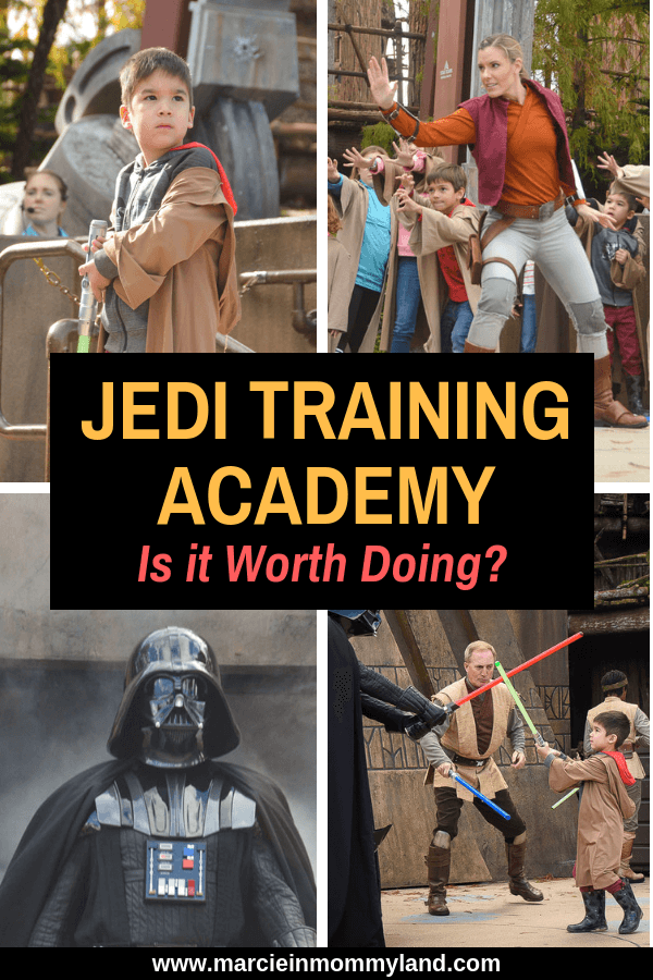 Heading to Disney's Hollywood Studios at Walt Disney World in Florida and wondering if the Jedi Training Academy is worth it? Find out everything you want to know about Jedi Training: Trials of the Temple including top questions and tips for parents. Click to read more or pin to save for later. www.marcieinmommyland.com #starwars #jedittraining #waltdisneyworld #disneyworld #wdw