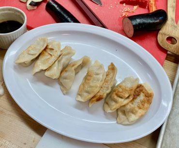 Ling Ling Potstickers are an easy Chinese New Year tradition families can make with their kids. | 10 Chinese New Year Traditions Your Family Can Celebrate featured by top Seattle blogger, Marcie in Mommyland: Ling Ling potstickers