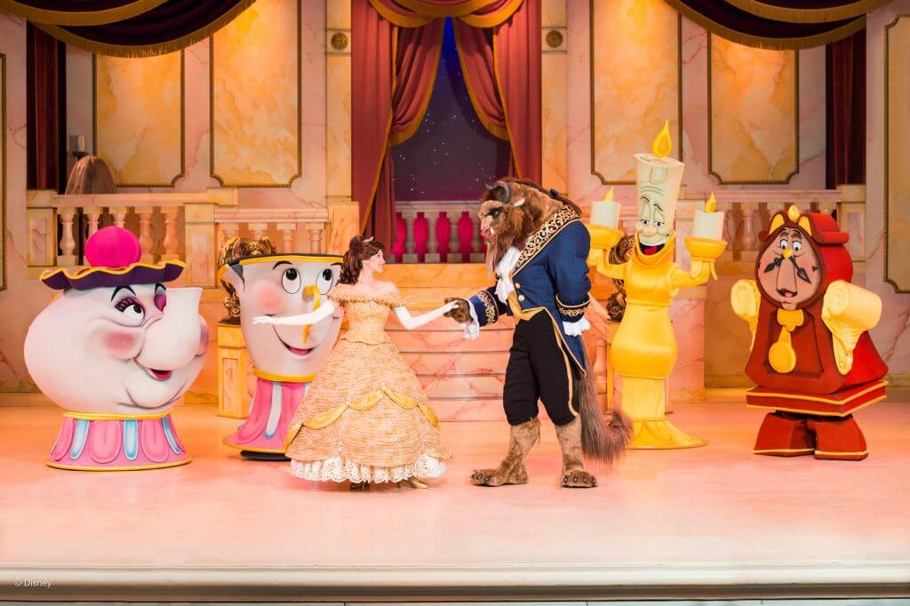 If you are going to Disney's Hollywood Studios with kids, you'll definitely want to grab a FastPass for Beauty and the Beast: Live on Stage.