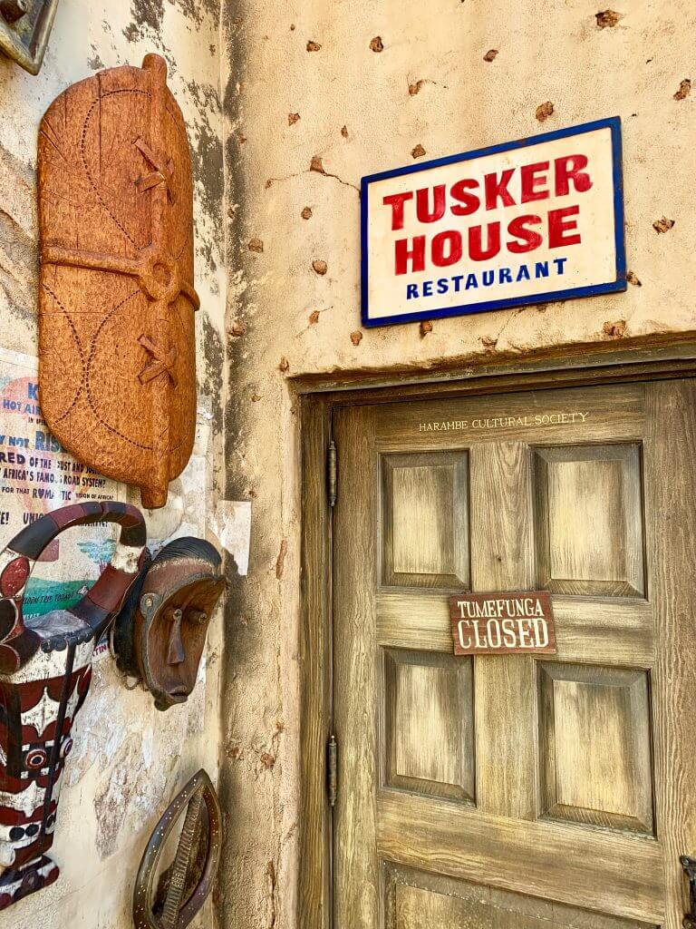 You'll find Tusker House restaurant in Harambe Village, an African-themed part of Walt Disney World's Animal Kingdom Park in Orlando, Florida and it's the onlly character meal you can get at Animal Kingdom. #tuskerhouse #waltdisneyworld #disneyworld #animalkingdom