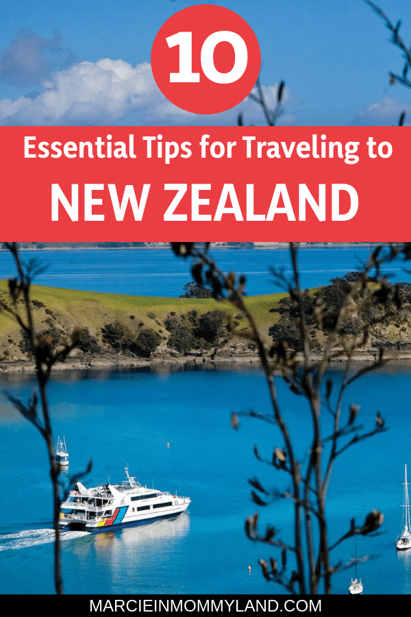 Heading to New Zealand with kids? Find out the top 10 essential tips you need to know before your New Zealand vacation, including what to buy as soon as you land, itinerary tips, awesome attractions, and more!. Click to read more or pin to save for later. www.marcieinmommyland.com #newzealand #auckland #familytravel