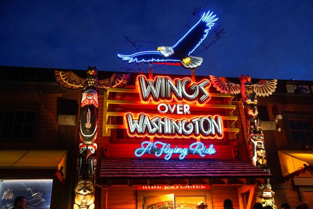 Wings Over Washington is a top Seattle tourist attraction and a fun place for a Seattle date night.