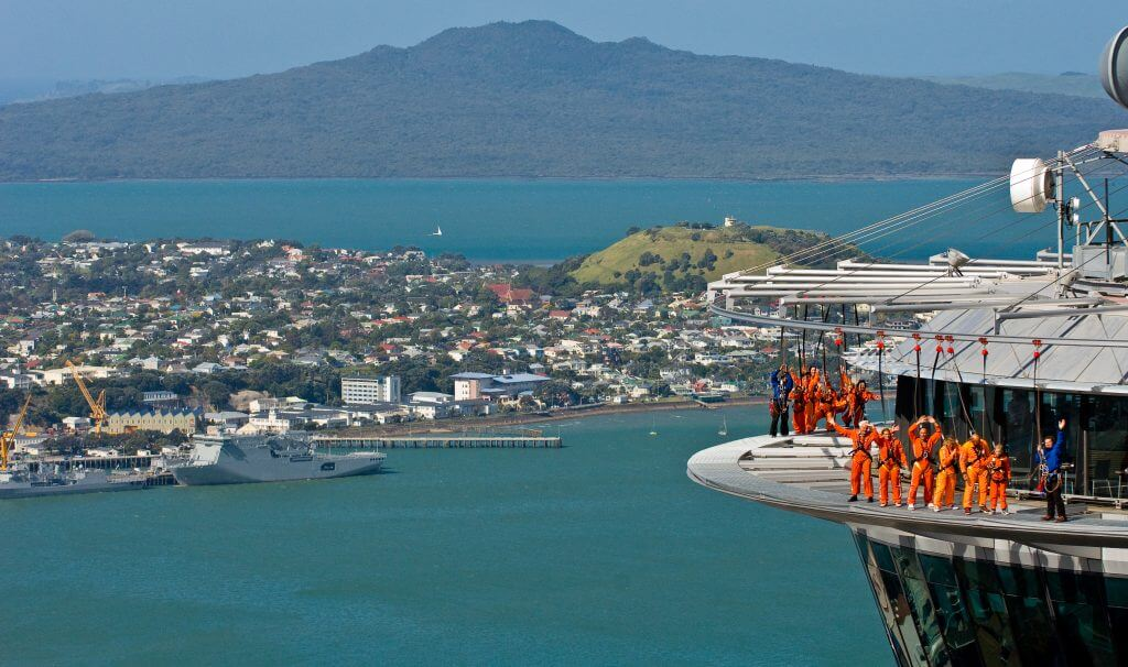 The SkyWalk is one of New Zealand's premier adventure activities - giving visitors the chance to experience an extreme thrill while enjoying 360 degree views of Auckland.