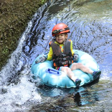 Our Kauai Mountain Tubing Family Adventure in Sugar Cane Canals