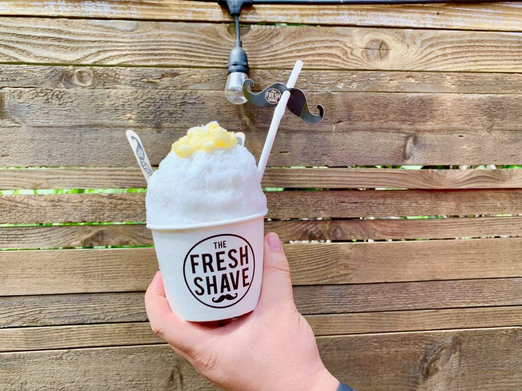 The Fresh Shave features organic syrups, fresh fruit, and all-natural ingredients for some of the best shave ice on Kauai.