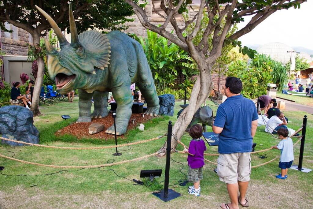 Exploring Bishop Museum is one of the best kid-friendly activities on Oahu for families.