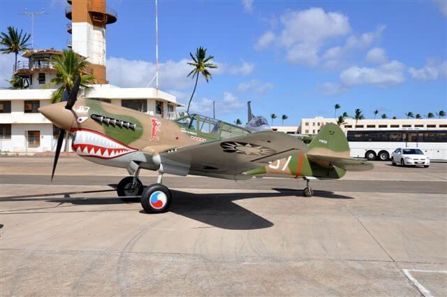 The Pearl Harbor Aviation Museum is an fascinating kid-friendly Oahu activity for families.