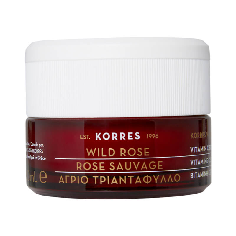 This full size Korres Wild Rose Vitamin C brightening and sleeping facial cream was in my FabFitFun box.