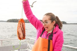 Lucky Catch offers amazing Portland Maine cruises where you can help catch lobster in Casco Bay! A Portland Maine cruise review featured by top US travel blogger, Marcie in Mommyland