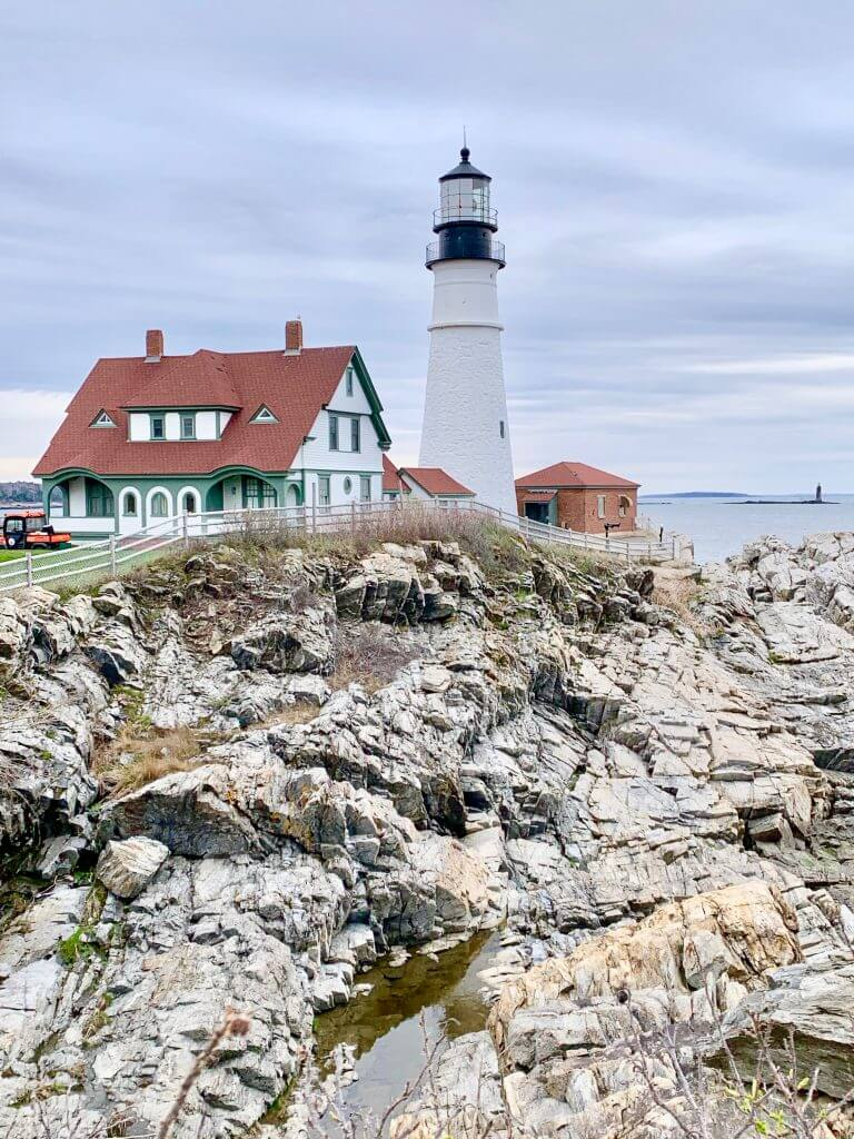 Portland Head Light is Maine's most popular lighthouse and it's the most photographed lighthouse in the United States.