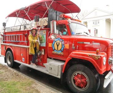 If you are looking for a unique Portland Sightseeing Tour, grab a ticket for the Portland Fire Tour in historic Maine! | Tour with Fire Engine Co featured by top US travel blogger, Marcie in Mommyland