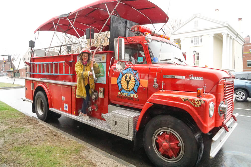 Portland Sightseeing Tour with Fire Engine Co   Marcie in Mommyland