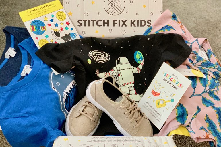 Is Stitch Fix Kids worth the price? Stitch Fix Kids review featured by top US life and style blogger, Marcie in Mommyland