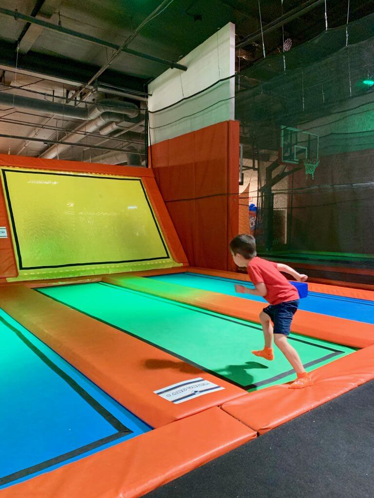 If you're heading to Buena Park with kids, be sure to play at Big Air Trampoline Park.