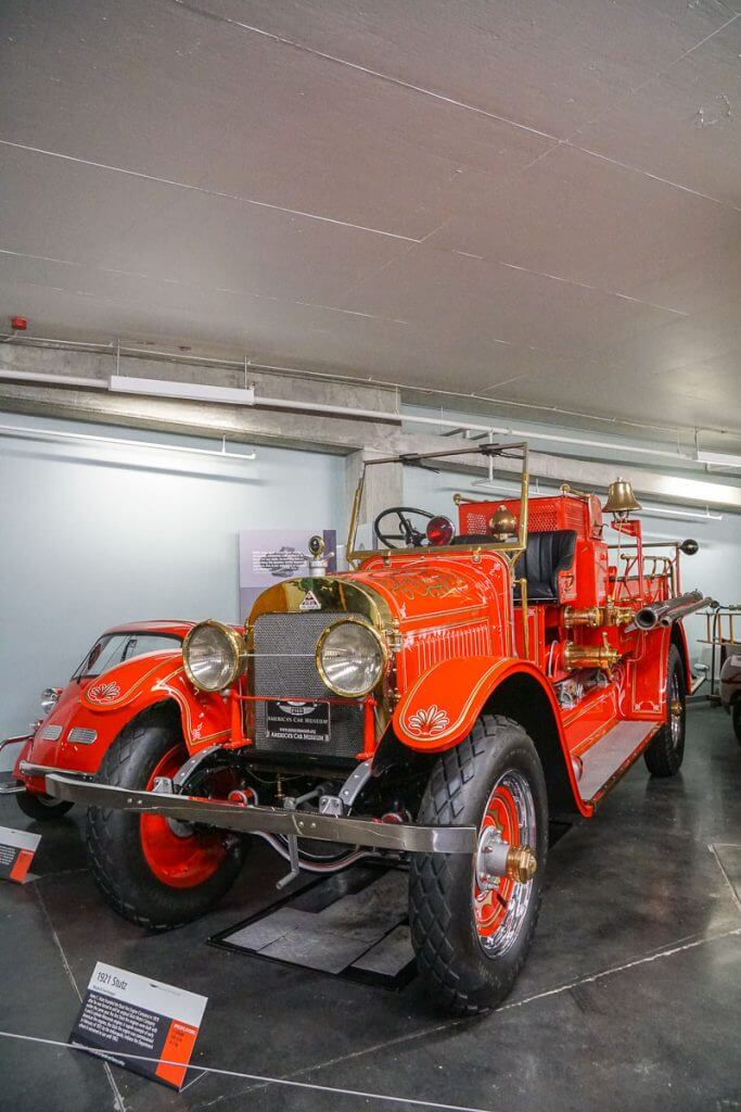 Kids will love seeing this 1921 Stutz fire engine at America's Car Museum in Tacoma, WA
