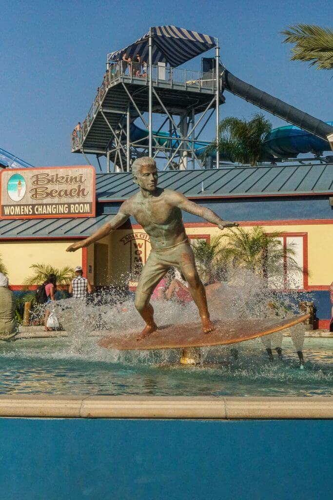 Wondering what to bring to Knott's Berry Farm Soak City in Buena Park, CA? Get all my must-have items and find out where to buy items you might forget.