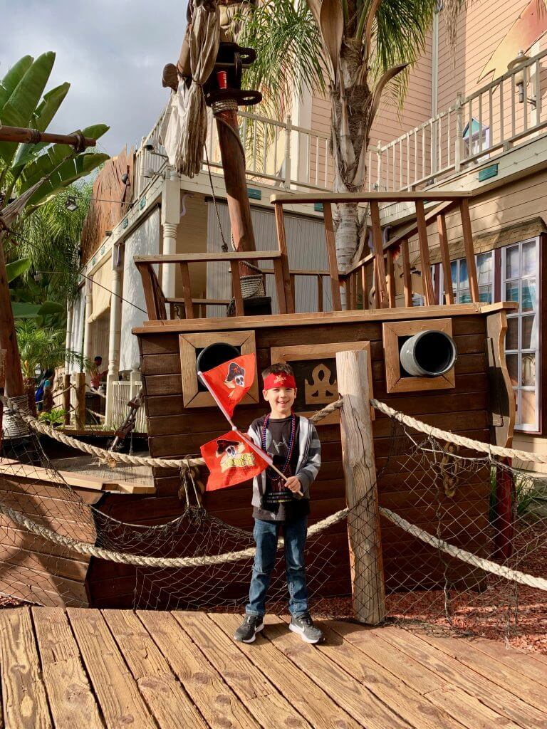 Buena Park is home to the Pirate Dinner Adventure, a fun thing to do in Buena Park for families