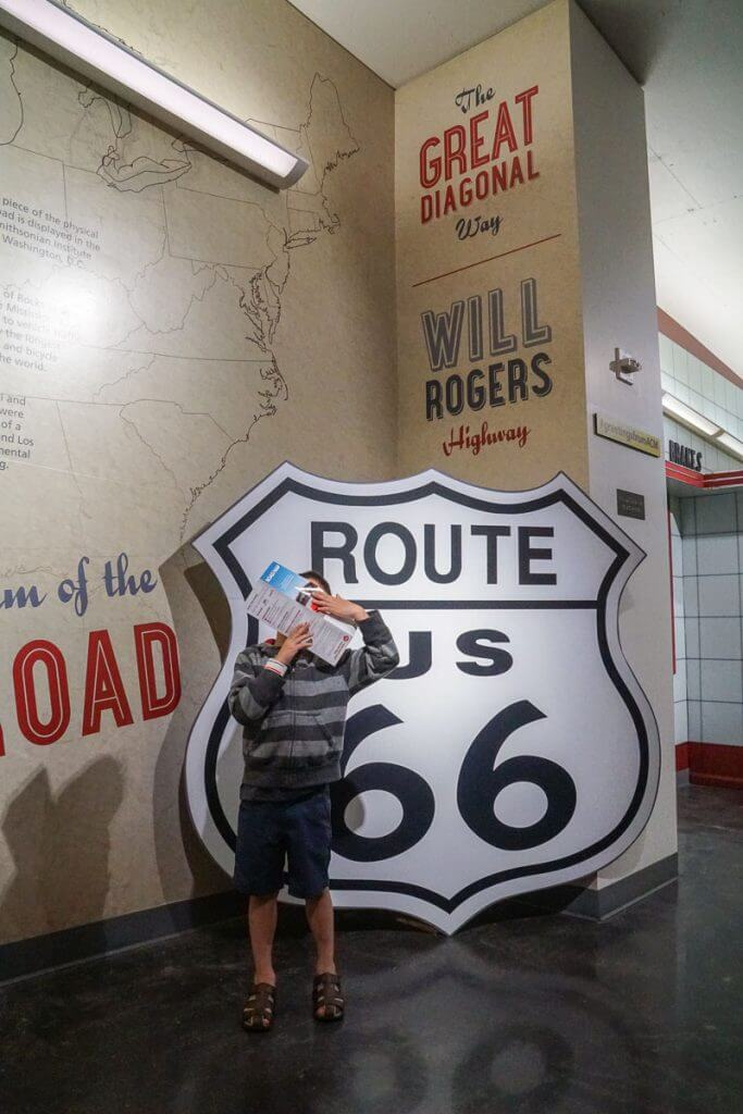 The new Route 66 exhibit at LeMay America's Car Museum is full of pop culture references and classic advertising displays.