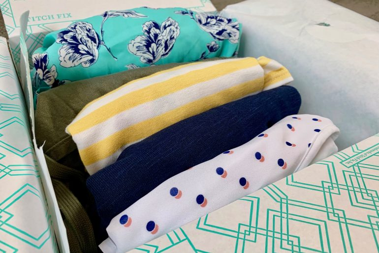 Take a peek inside a Stitch Fix unboxing and review for fun Summer 2019 fashion for moms, featured by top US life and style blogger, Marcie in Mommyland