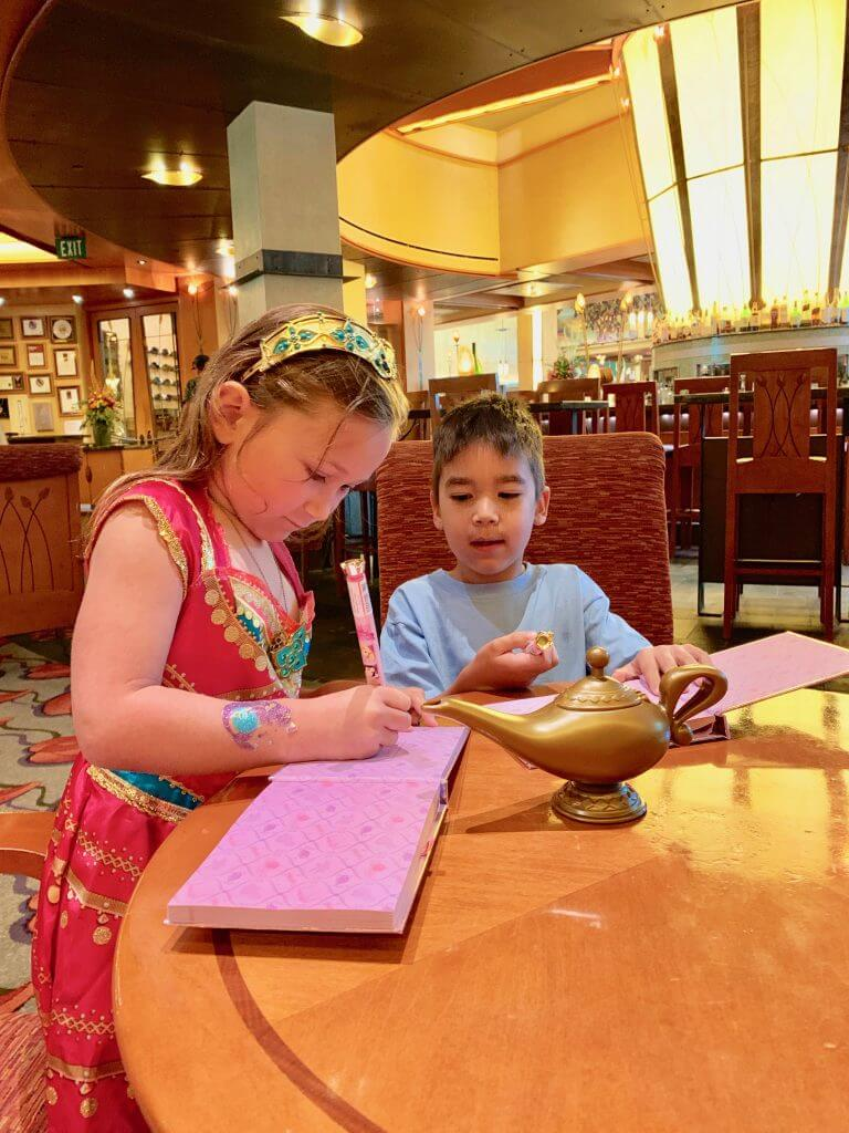 The new Disney Princess Breakfast Adventures at the Grand Californian Hotel is a fabulous Disneyland character breakfast.