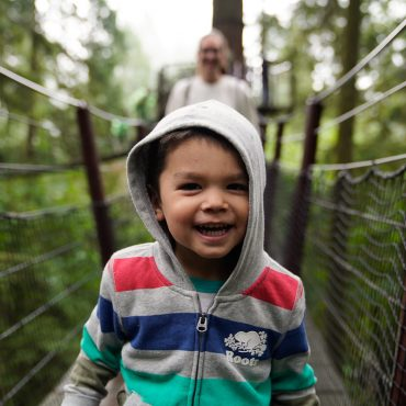 Is it Crazy to do the Capilano Suspension Bridge with a Toddler?