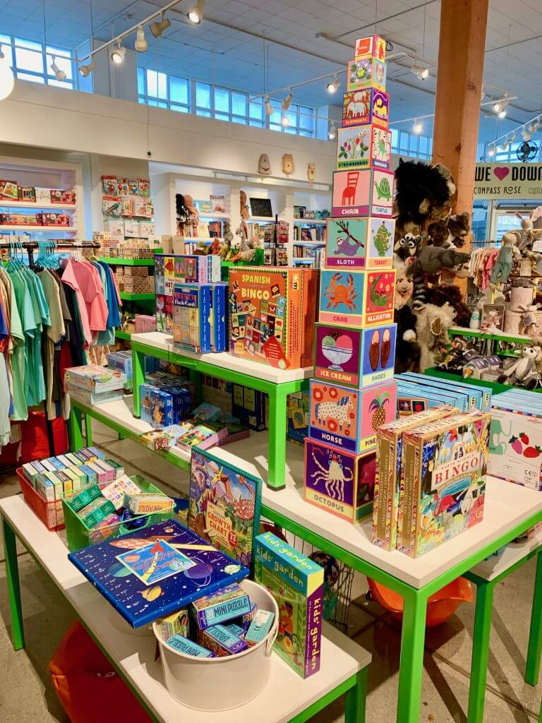 If you're looking for a boutique toy store in Olympia, WA head to Captain Little in downtown Olympia