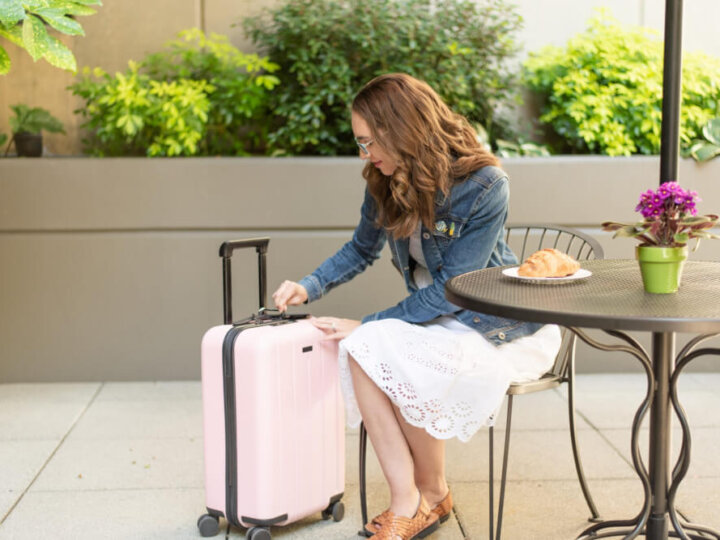 The Chester MINIMA is a great carry on for family vacations