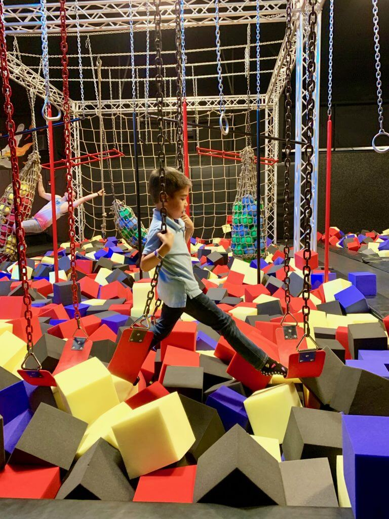 One of the coolest kid-friendly things to do in Olympia is play at DEFY Trampoline Park.