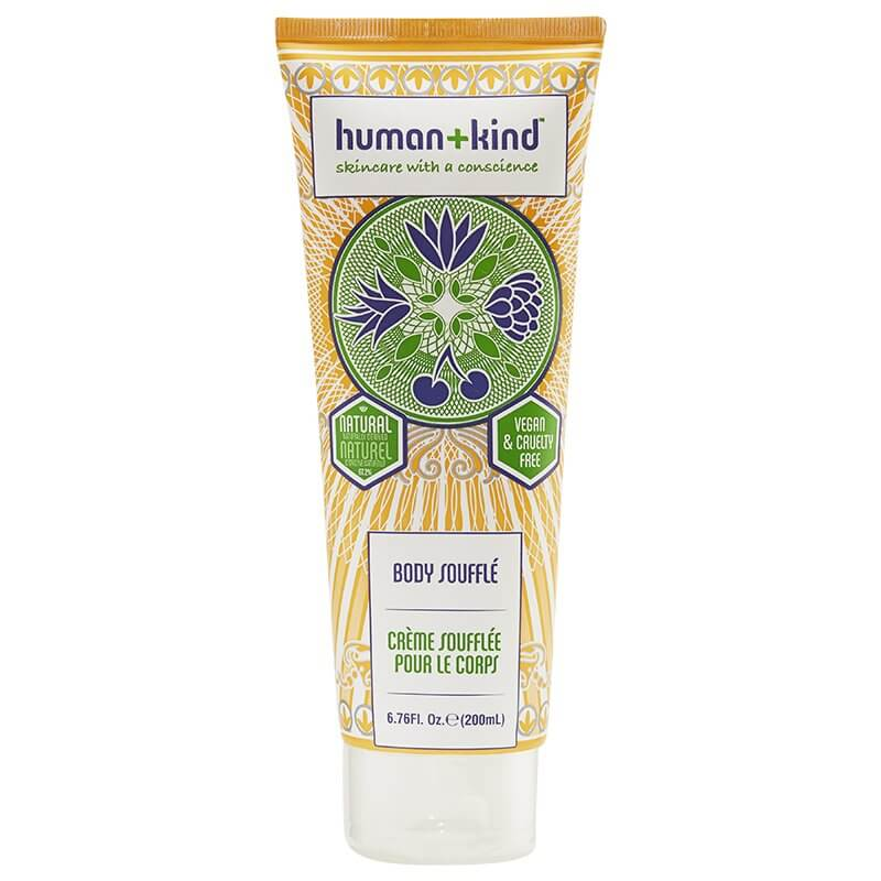 Nourish your skin with Human and Kind body souffle
