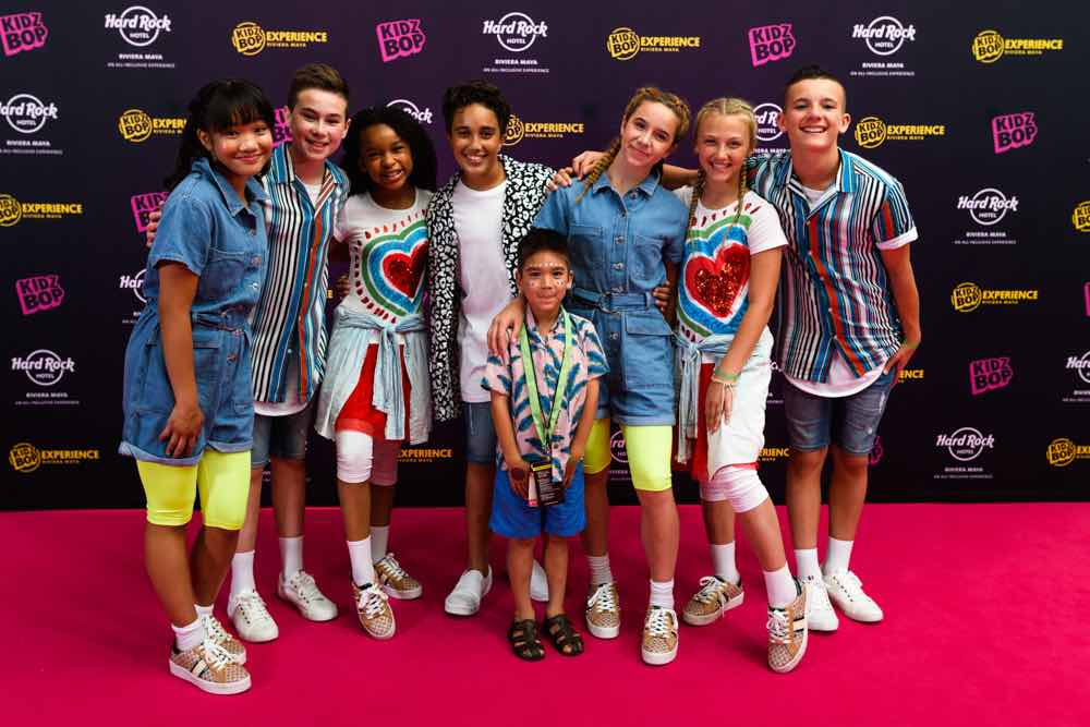 After the KIDZ BOP concert, VIP guests did a meet and greet with the KIDZ BOP kids