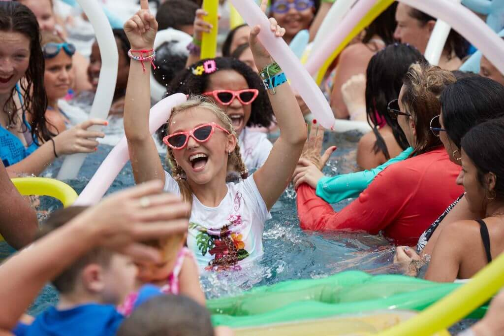 Kids will love the KIDZ BOP Pool Parties at the Hard Rock Hotel Riviera Maya, an all-inclusive resort in Mexico