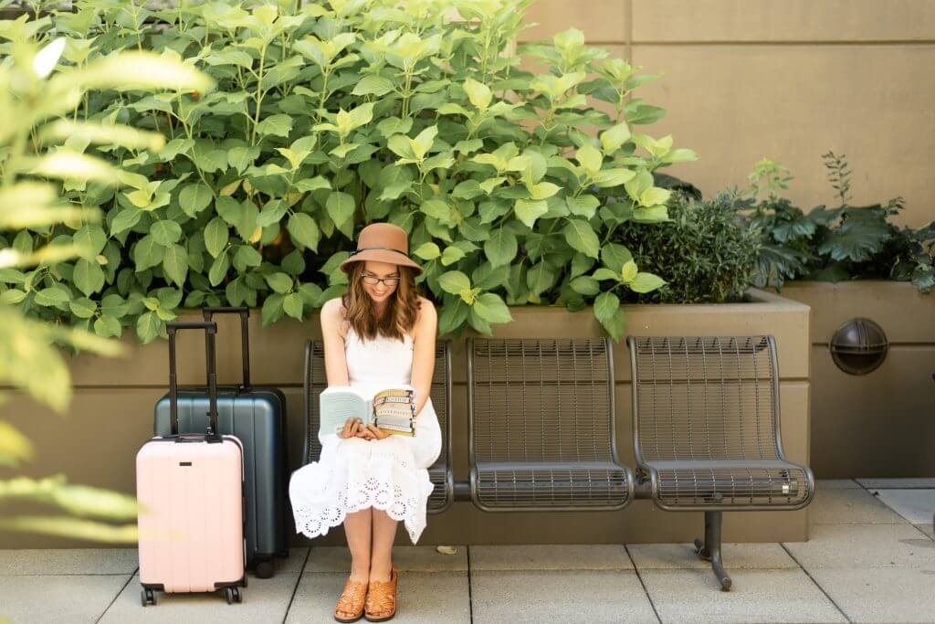 Chester Travels luggage comes in carry on and checked sizes and come in an array of colors.