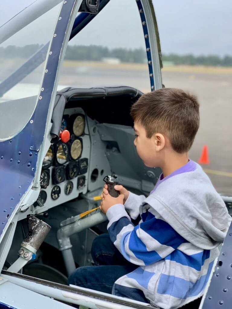 The Olympic Flight Museum is a fun thing to do with kids in Olympia, WA